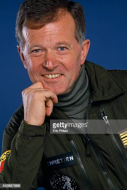 French astronaut JeanLoup Chretien