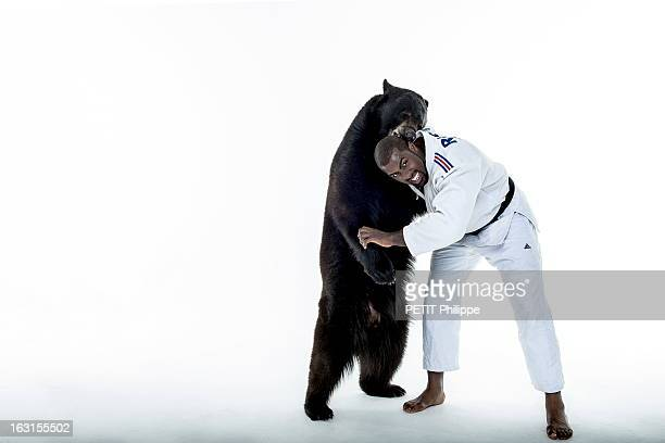 French Athletes On The Eve Of The Olympic Games In London 2012 Teddy Riner A la veille de l'ouverture des Jeux Olympiques de Londres 2012 les...
