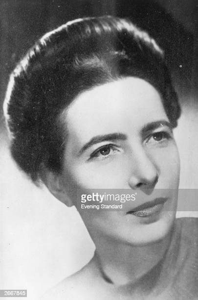 French author and feminist Simone de Beauvoir known for her lifelong association with JeanPaul Sartre
