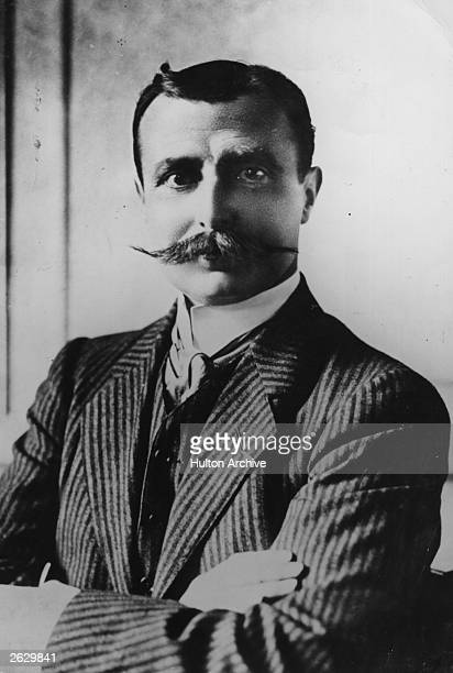 French aviator and aeronautical engineer Louis Bleriot who made the first flight across the English channel in 1909