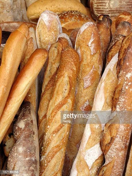Des baguettes françaises.