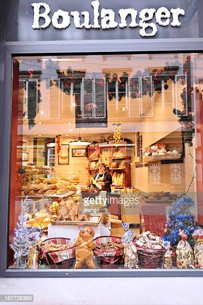 French baker's shop