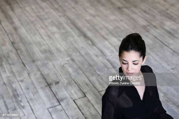 French ballet dancer Emilie Fouilloux is photographed for Self Assignment on April 06 2017 in Milan Italy