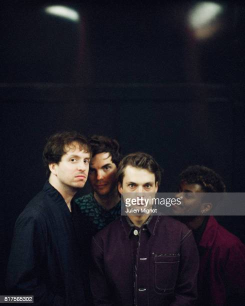 French band Francois The Atlas Mountains is photographed for Grazia Magazine on February 11 2017 in Nantes France PUBLISHED IMAGE