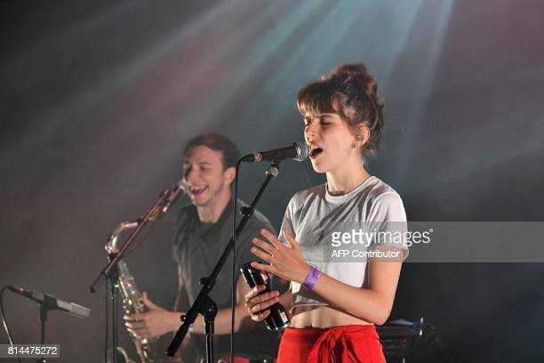 French band Inuit performs during the Francofolies Music Festival on July 13 2017 in La Rochelle / AFP PHOTO / XAVIER LEOTY