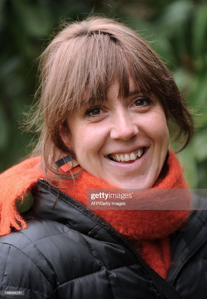 French Basque activist Aurore Martin poses in Hasparren, southwestern France, on January 5, 2013. Martin was released on bail on December 22, 2012 after spending 52 days in a Spanish prison. She had been arrested during a roadside check in southwestern France on a Europe-wide warrant issued by Madrid in 2010 over her participation in the Batasuna party, which is legal in France but outlawed in Spain for its alleged links to Basque armed separatist group ETA.