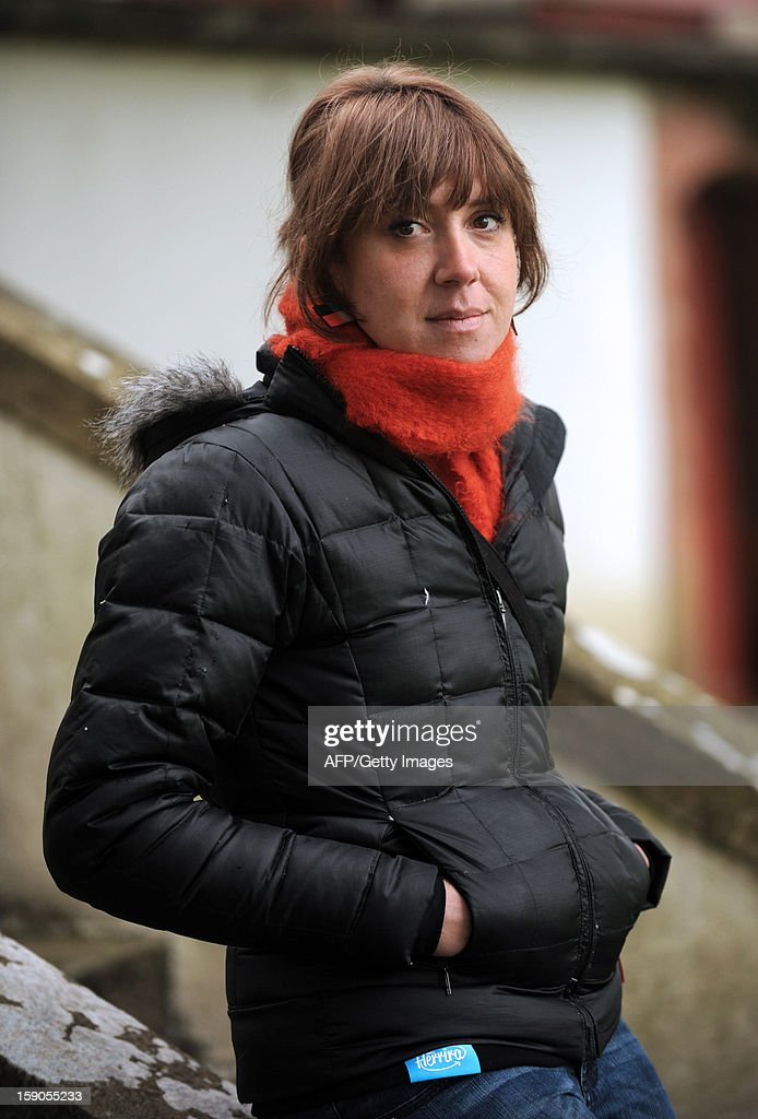 French Basque activist Aurore Martin poses in Hasparren, southwestern France, on January 5, 2013. Martin was released on bail on December 22, 2012 after spending 52 days in a Spanish prison. She had been arrested during a roadside check in southwestern France on a Europe-wide warrant issued by Madrid in 2010 over her participation in the Batasuna party, which is legal in France but outlawed in Spain for its alleged links to Basque armed separatist group ETA. AFP PHOTO / GAIZKA IROZ