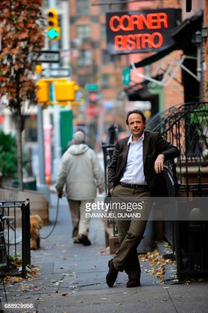 French best selling author Marc Levy poses during a photo session in New York's West Village where he lives November 24 2009 Marc Levy's tenth novel...