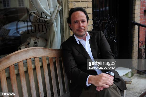 French best selling author Marc Levy poses during a photo session in New York's West Village the neighborhood where he lives November 24 2009 Marc...