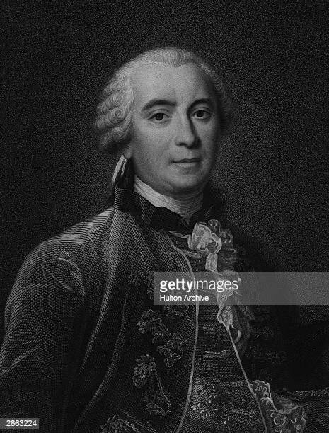 French biologist and naturalist GeorgeLouis Leclerc Comte de Buffon circa 1750