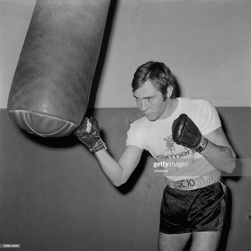French boxer JeanClaude Bouttier during a training session