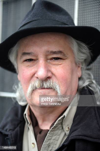 French Breton traditional singer Erik Marchand poses on June 25 2012 in Quimper Brittany western France AFP PHOTO / FRED TANNEAU