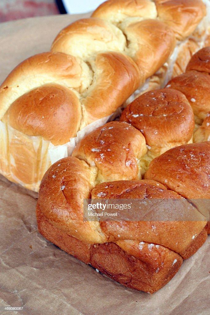 French brioche bread. : Stock Photo