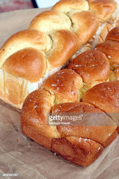 French brioche bread.