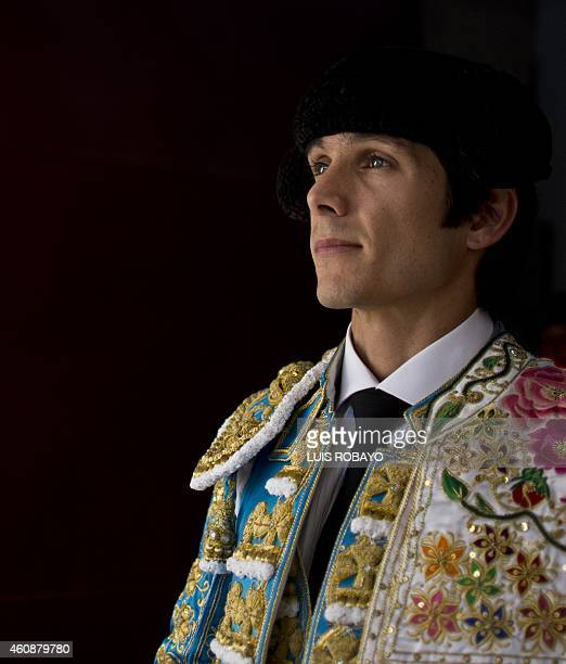 French bullfighter Sebastian Castella is seen before a bullfight at the Canaveralejo bullring in Cali department of Valle del Cauca Colombia on...
