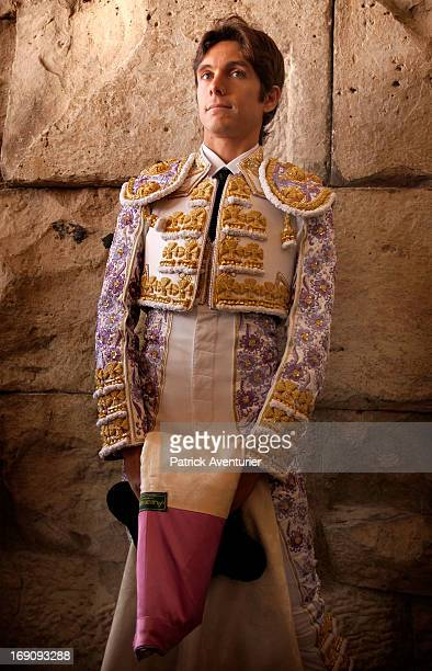 French bullfighter Sebastien Castella during the 61st annual Pentecost Feria de Nimes at Nimes Arena on May 19 2013 in Nimes France The historic...