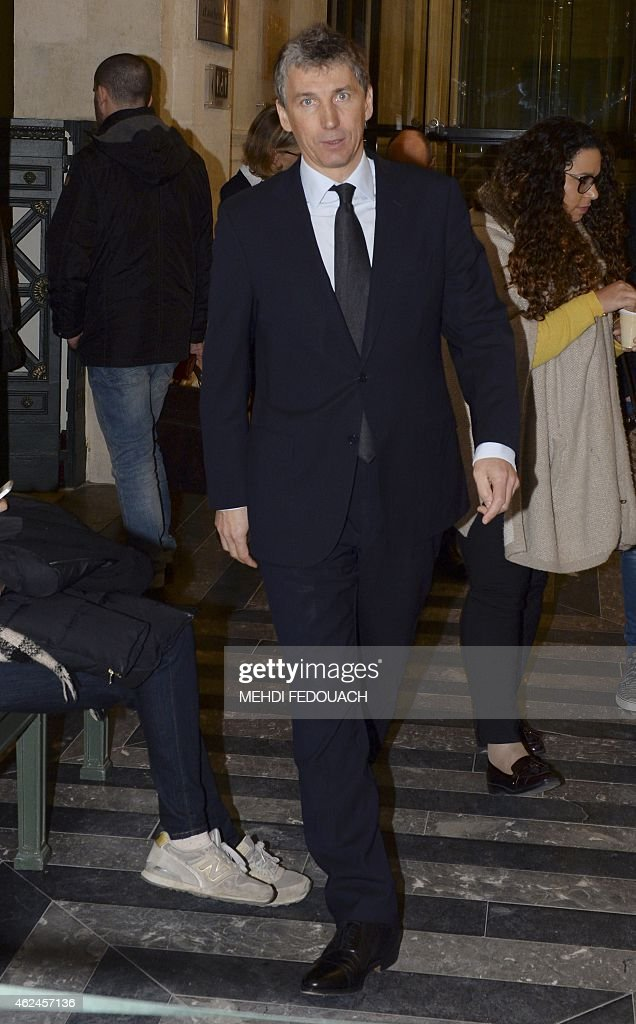 French businessman Stephane Courbit arrives at the Bordeaux courthouse on January 29, 2015 for the 4th day of the trial of ten people charged with exploiting France's richest woman <a gi-track='captionPersonalityLinkClicked' href=/galleries/search?phrase=Liliane+Bettencourt&family=editorial&specificpeople=2343695 ng-click='$event.stopPropagation()'>Liliane Bettencourt</a>. 10 members of Bettencourt's entourage are accused of taking advantage of the 92-year-old billionaire's growing mental fragility in an explosive legal and political drama. AFP PHOTO / MEHDI FEDOUACH