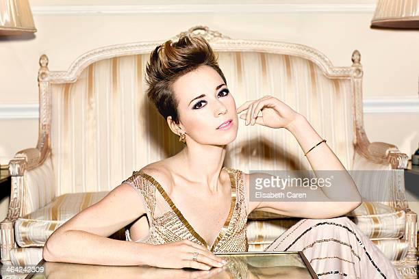French Canadian actress Karine Vanasse is photographed for Icon Magazine on November 13 2013 in Beverly Hills California PUBLISHED IMAGE