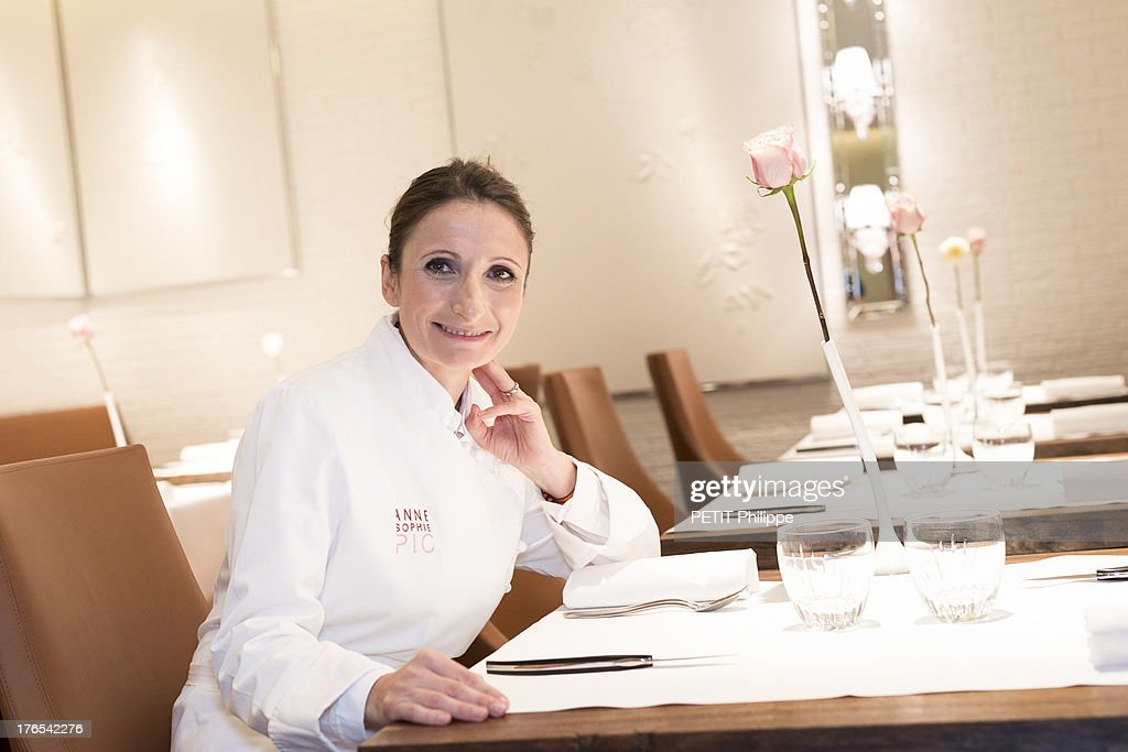 chef anne sophie pic portrait session getty images. Black Bedroom Furniture Sets. Home Design Ideas