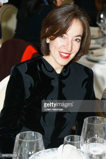 French Chief Curator of Fashion Pamela Golbin attends the Etam Dinner as part of the Paris Fashion Week Womenswear Fall/Winter 2017/2018 on March 7...