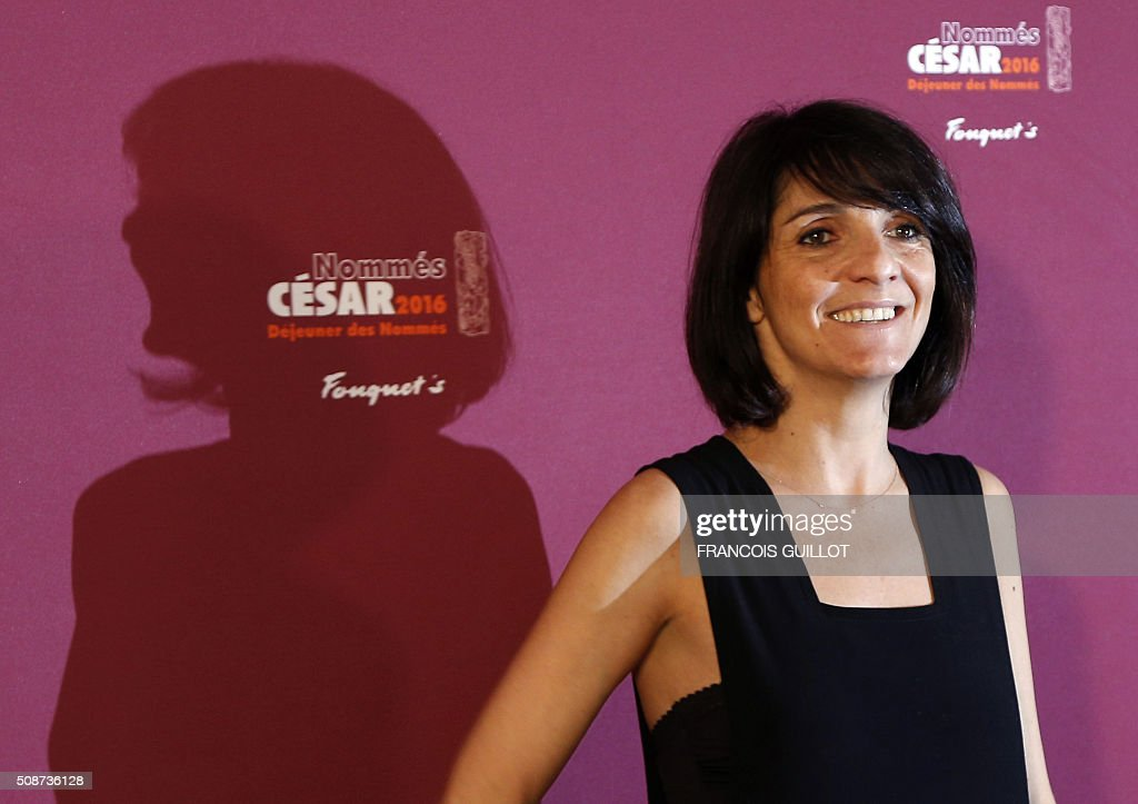 French comedian and master of ceremony Florence Foresti poses during the nominations event for the 2016 César film awards, on February 6, 2016 in Paris. The 41st Ceremony for the Cesar film award, considered as the highest film honour in France, will take place on February 26, 2016. / AFP / FRANCOIS GUILLOT