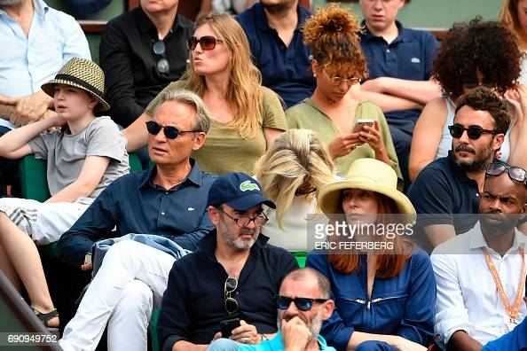 TENNIS-FRA-OPEN-PEOPLE : News Photo