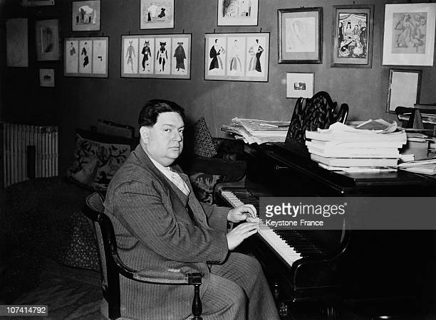 French Composer Darius Milhaud On February 1938