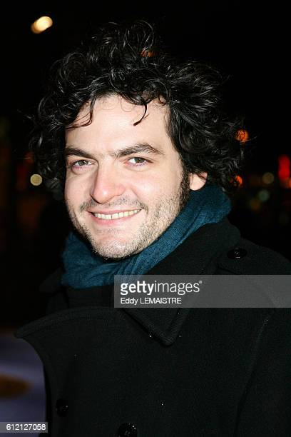 French composer Mathieu Chedid arrives at the 2007 Cesar Awards ceremony