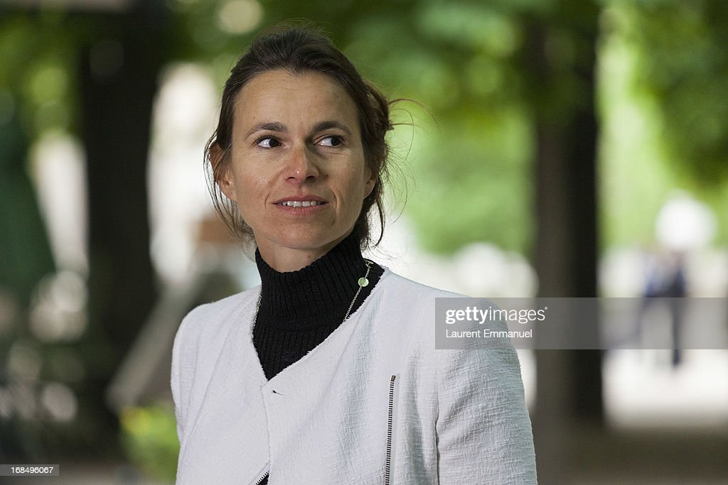 French Culture Minister Aurelie Filipetti attends a ceremony marking the abolition of slavery in the Jardins du Luxembourg on May 10, 2013 in Paris, France. Taubira Law was passed in May 2001 acknowledging slavery and the Atlantic slave trade as crimes against humanity.