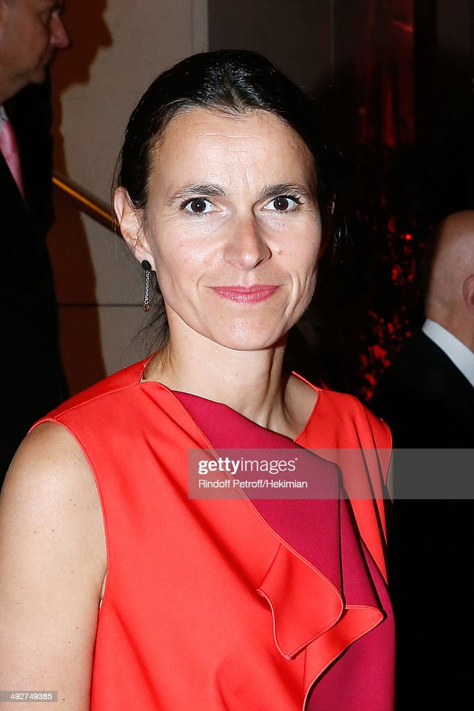 French Culture Minister Aurelie Filippetti attends the AROP Charity Gala. Held at Opera Bastille on May 21, 2014 in Paris, France.