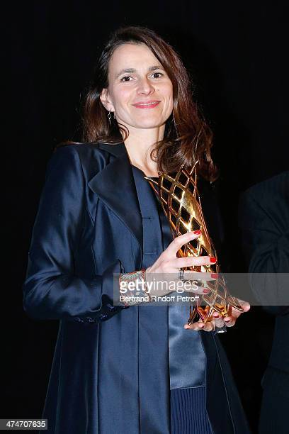 French Culture Minister Aurelie Filippetti attends the 'Daniel Toscan du Plantier Producer's Price Cesar Film Awards 2014' at Hotel George V on...