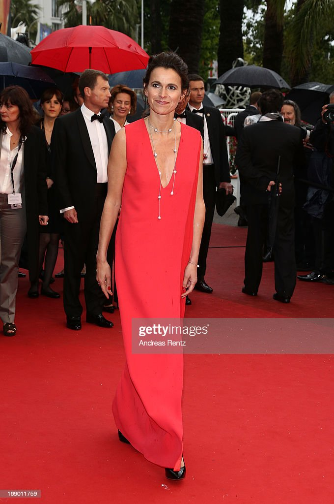 French Culture Minister Aurelie Filippetti attends the 'Jimmy P. (Psychotherapy Of A Plains Indian)' Premiere during the 66th Annual Cannes Film Festival at the Palais des Festivals on May 18, 2013 in Cannes, France.