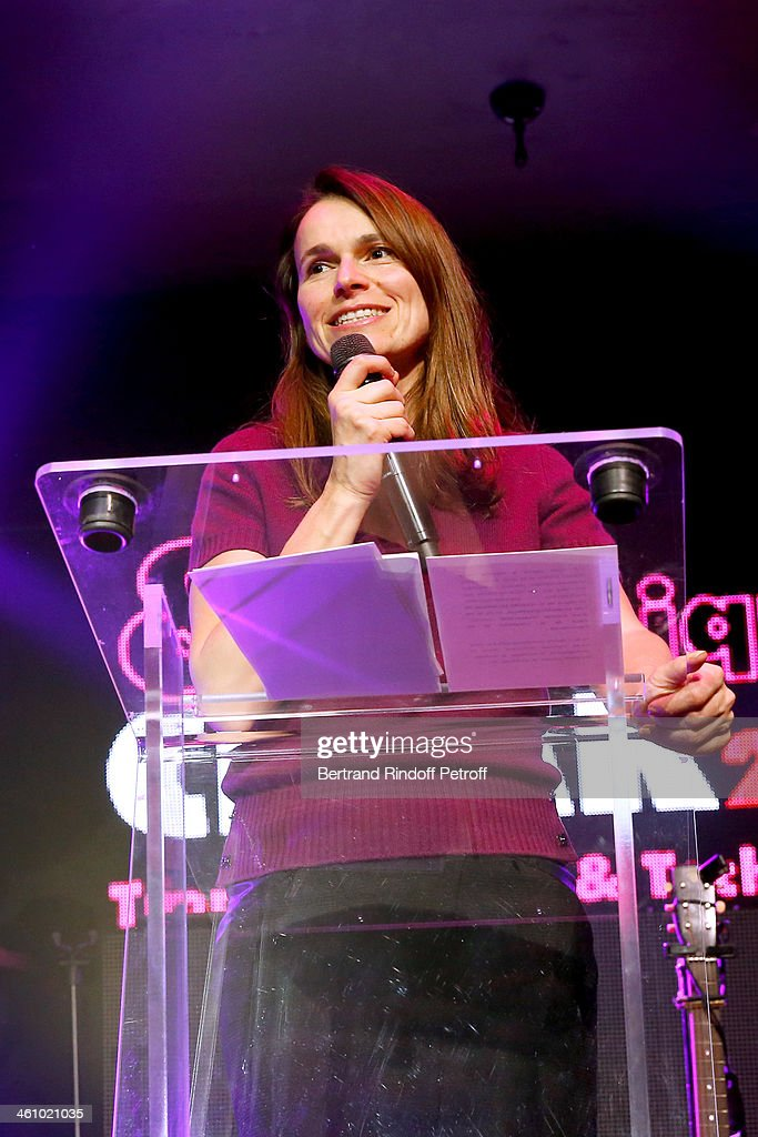 French Culture Minister Aurelie Filippetti attends the'Cesar et Techniques 2014' Award Ceremony at Club Haussmann on January 6, 2014 in Paris, France.