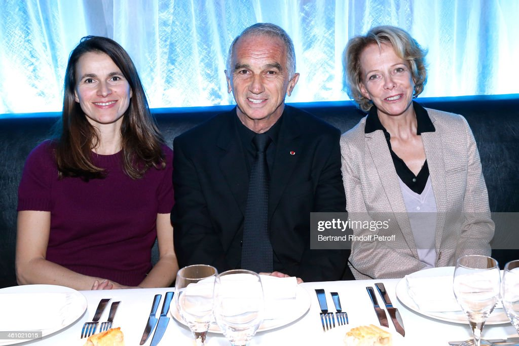 French Culture Minister Aurelie Filippetti, President of the 'Cesar', the French Academy Awards Alain Terzian and President of CNC Frederique Bredin attend 'Cesar et Techniques 2014' Award Ceremony at Club Haussmann on January 6, 2014 in Paris, France.