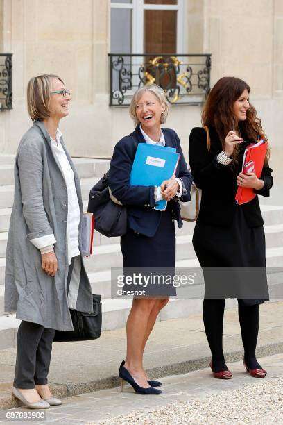 French Culture Minister Francoise Nyssen French Junior Minister in Charge of Disabled people Sophie Cluzel French Junior Minister in charge of...