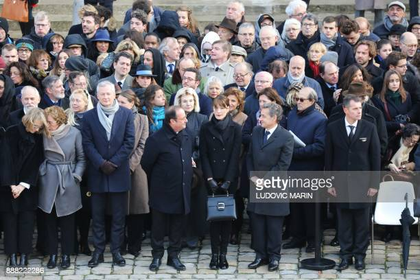 French Culture Minister Francoise Nyssen French Labour Minister Muriel Pénicaud French Economy Minister Bruno Le Maire former French President...