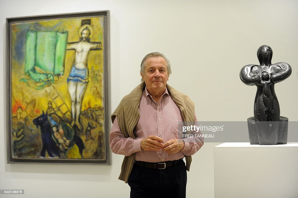 Marc Chagall | Getty Images Chagall Crucifixion In Yellow