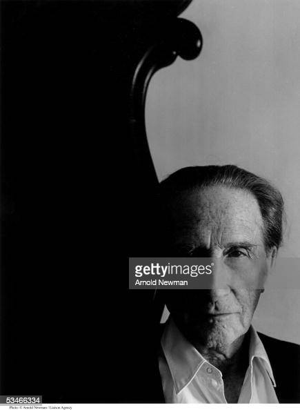 French Dada artist Marcel Duchamp poses for portrait January 28 1966 in New York City Duchamp is best known for his controversial painting 'Nude...