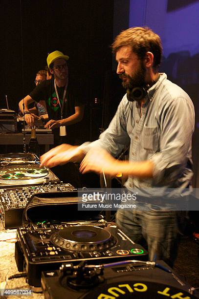 French dance music producer Mr Oizo performing live on stage at Dom im Berg in Graz as part of the SpringNine Festival on May 20 2009