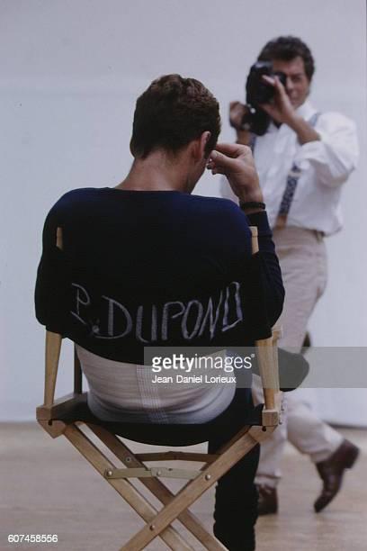 French dancer Patrick Dupond shoots 4 video clips for Celine
