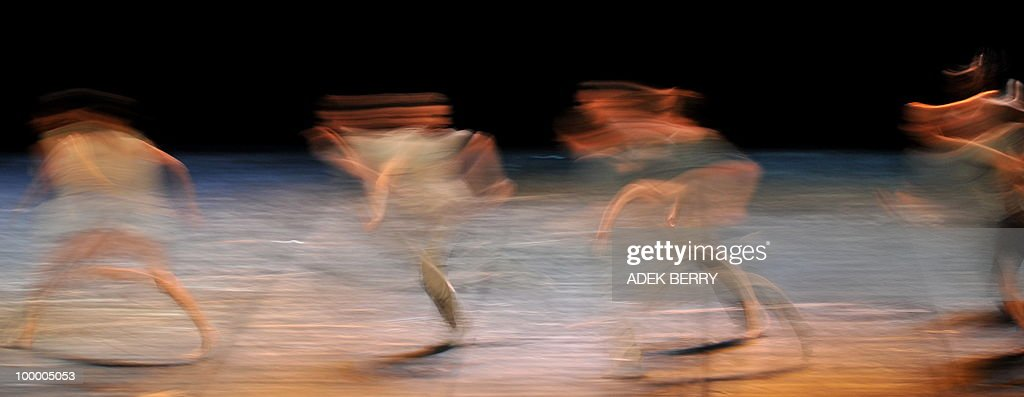 French dancers of Emanuel Gat dance comp