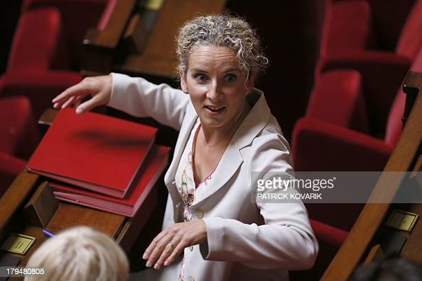 French deputy and former Environment Minister Delphine Batho attends a debate about a military intervention in Syria at the French National Assembly...
