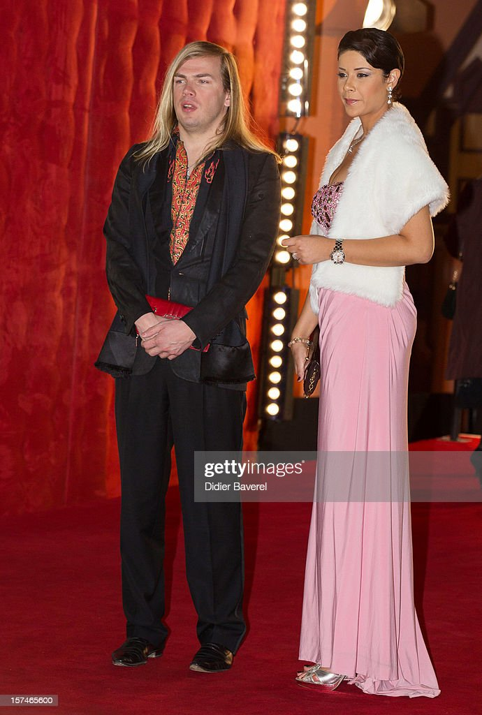French Designer Christophe Guillarme and actress Leila Hadioui attend the 12th International Marrakech Film Festival on December 3, 2012 in Marrakech, Morocco.