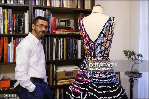 French designer franck sorbier receives official label for Haute official