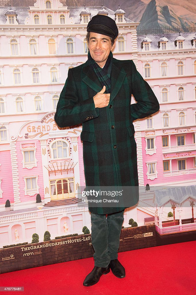 French Designer Vincent Dare attends the 'The Grand Budapest Hotel' Paris Premiere at Cinema Gaumont Opera on February 20, 2014 in Paris, France.