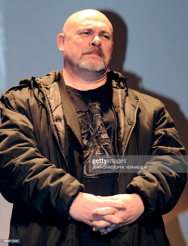 French director, actor, screenwriter and artist Marc Caro, member of the jury, attends the closing ceremony of the 20th International Fantastic Film Festival on February 3, 2013 in Gerardmer, eastern France. VERHAEGEN