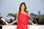 French director and actress Maiwenn poses after winning the Jury Prize for the film 'Polisse' at the photo call for 'Palme D'Or Winners' during the...
