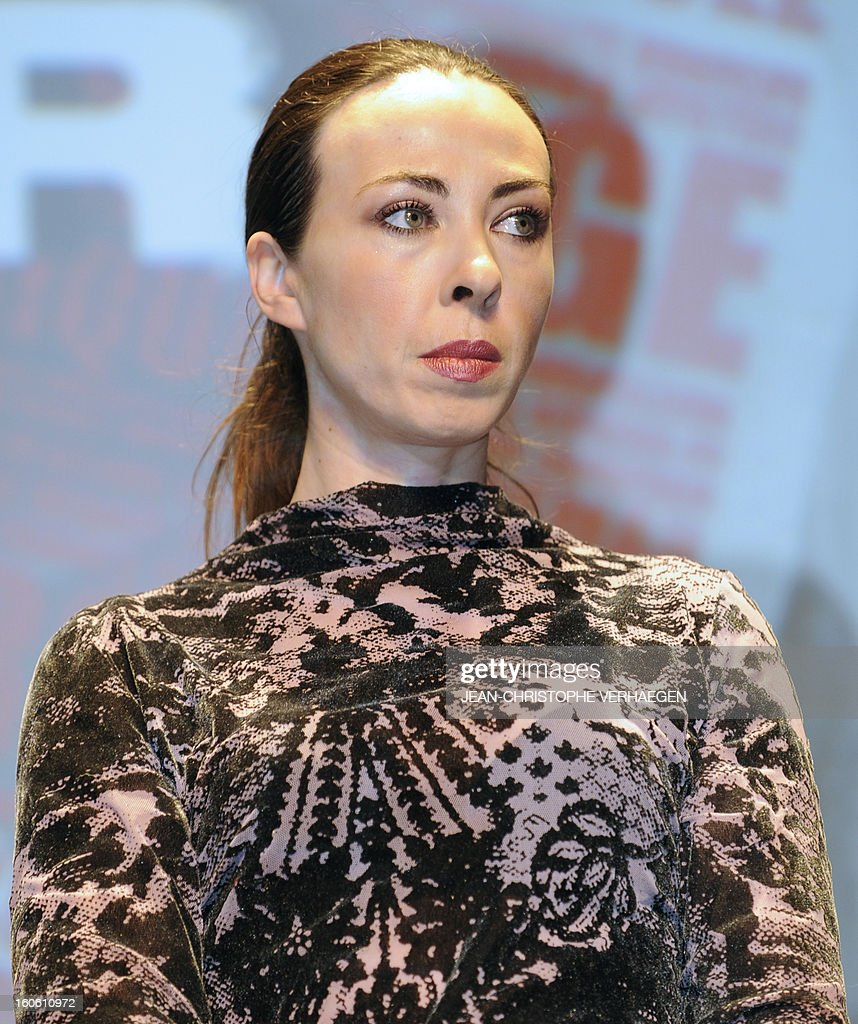 French director and screenwriter Marina De Van, member of the jury, attends the closing ceremony of the 20th International Fantastic Film Festival on February 3, 2013 in Gerardmer, eastern France. VERHAEGEN