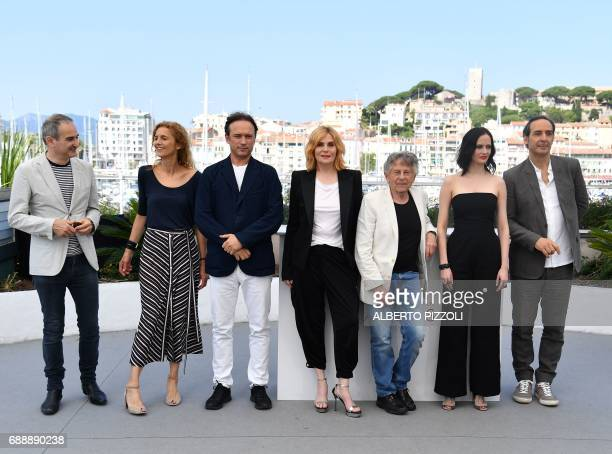 French director and screenwriter Olivier Assayas French writer Delphine De Vigan Swiss actor Vincent Perez French actress Emmanuelle Seigner...
