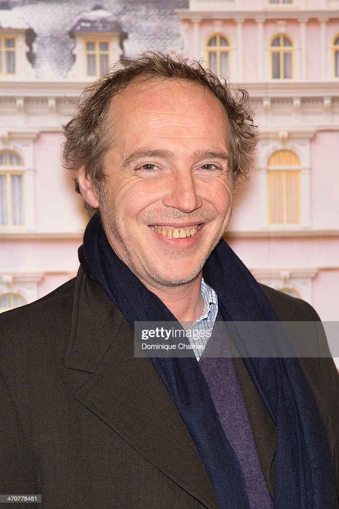 French Director <a gi-track='captionPersonalityLinkClicked' href=/galleries/search?phrase=Arnaud+Desplechin&family=editorial&specificpeople=2517702 ng-click='$event.stopPropagation()'>Arnaud Desplechin</a> attends the 'The Grand Budapest Hotel' Paris Premiere at Cinema Gaumont Opera on February 20, 2014 in Paris, France.